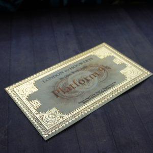 билет на поезд хогвартс экспресс