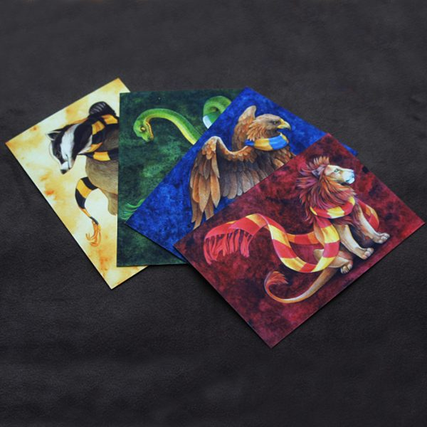открытки гарри поттер